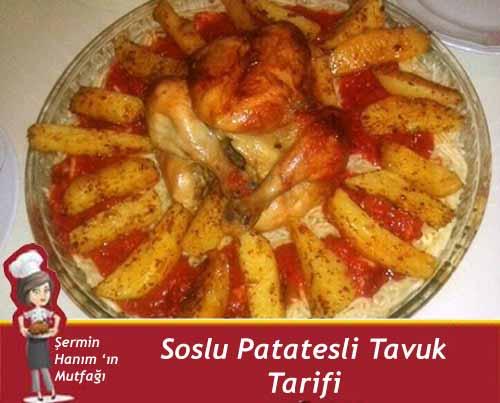soslu patatesli