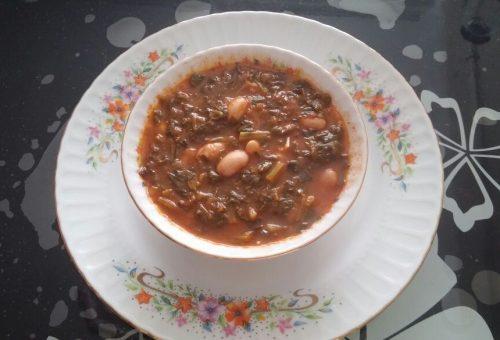 Ispanaklı Ekşili Çorba