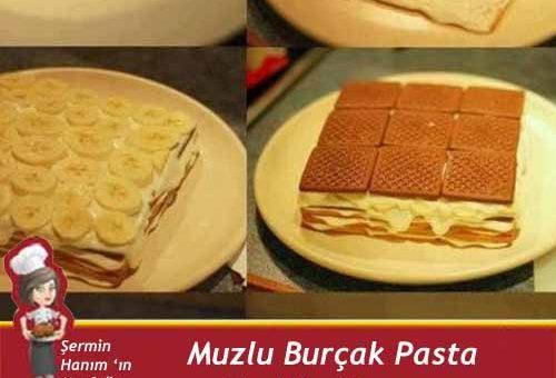 Muzlu Burçak Pastası Tarifi.