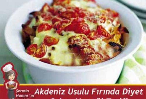 Akdeniz Usulu Fırında Diyet Sebze Yemeği Tarifi