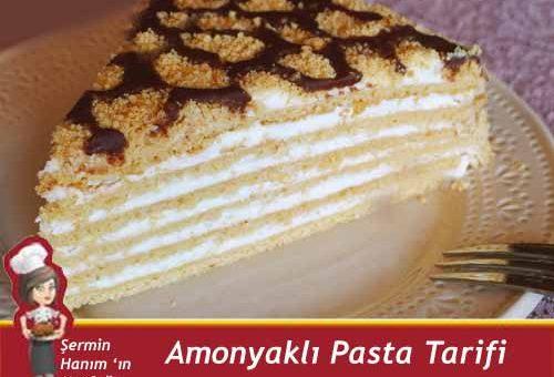 Amonyaklı Pasta Tarifi.