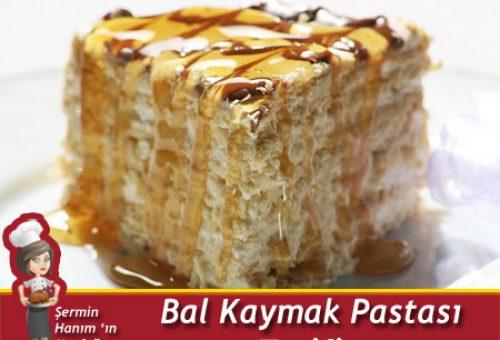 Bal Kaymak Pastası Tarifi.