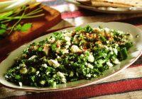 Antakya Usulü Çökelek Salatası