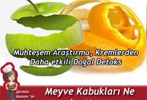 Meyve Kabukları Ne işe Yarar