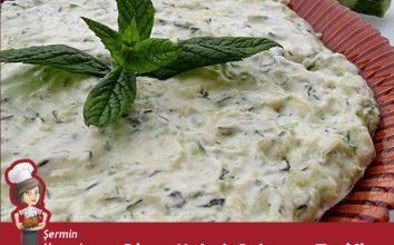 Diyet Kabak Salatası
