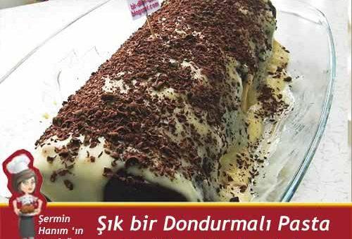 Dondurmalı Pasta Tarifi.
