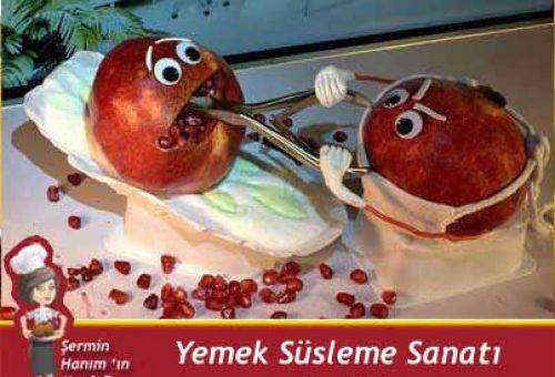 Yemek Süsleme Sanatı