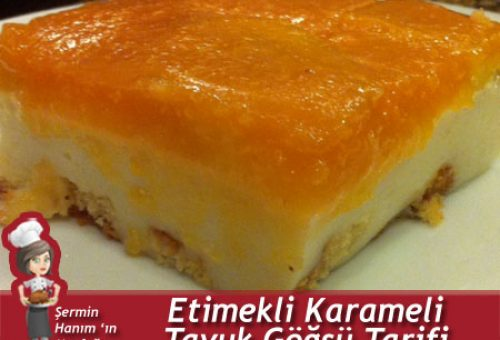 Etimekli Karemelli Tavuk Göğsü Tarifi.
