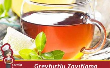 Greyfutlu Zayıflama Çayı Tarifi