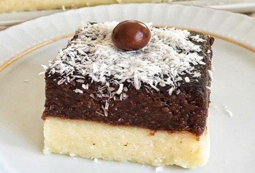 Kakaolu İrmik Tatlısı