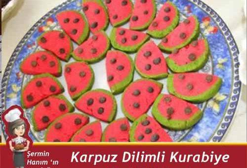 Karpuz Kurabiye Tarifi.
