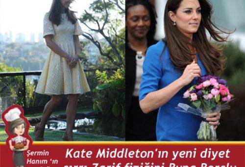 Kate Middleton'ın yeni diyet sırrı