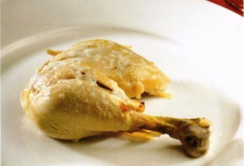 Kaymaklı Tavuk