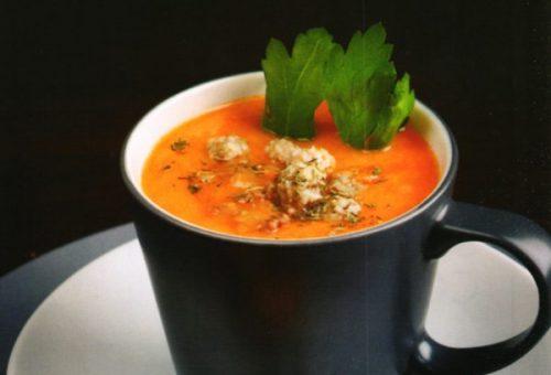 Kremalı Köfte Çorbası (Shikamba)