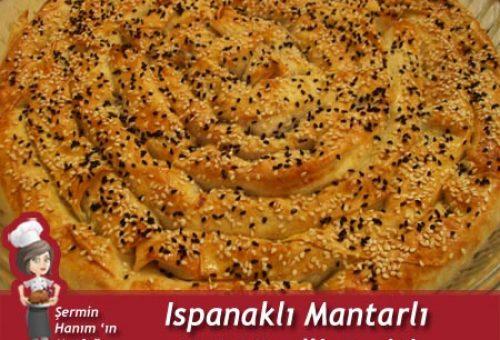 Ispanaklı Mantarlı Kol Böreği Tarifi