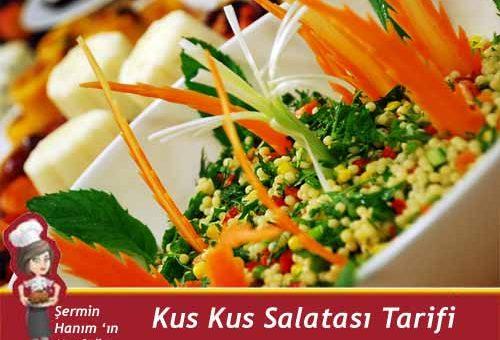 Kus Kus Salatası Tarifi