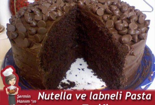 Labneli ve Nutellalı Pasta Tarifi