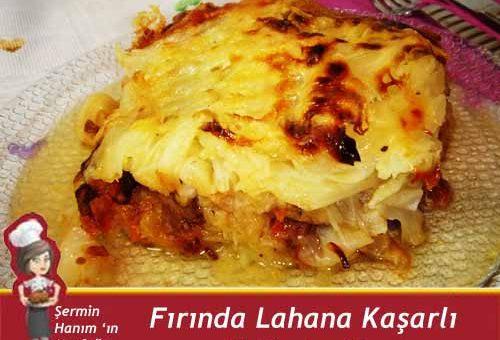 Fırında Lahana Tarifi