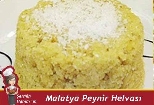 Malatya Peynir Helvası Tarifi