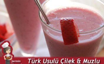 Türk Usulü Milkshake Tarifi