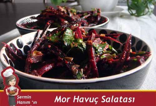 Mor Havuç Salatası Tarifi