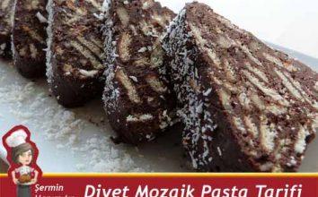Diyet Mozaik Pasta Tarifi.