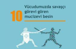 Bağışıklık Sistemini Güçlendiren 10 Mucizevi Besin