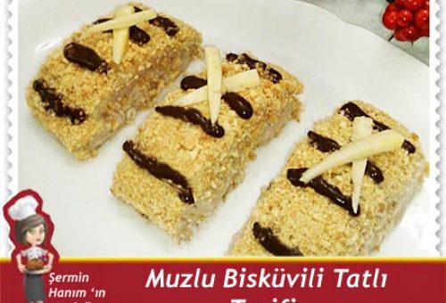 Muzlu Bisküvili Tatlı Tarifi.