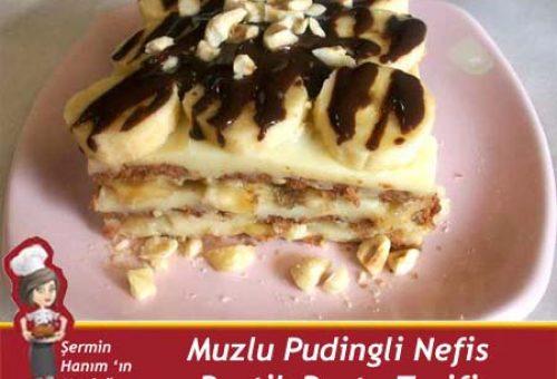 Muzlu Pudingli Pasta Tarifi