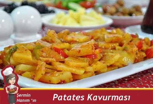 Nefis Patates Kavurması Tarifi