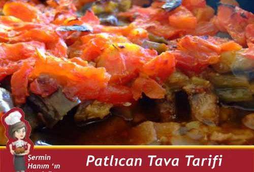 Patlıcan Tava Tarifi.