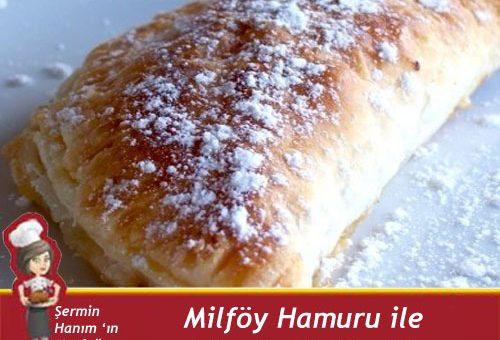 Milföy Hamuru ile Kolay Elmalı Pay Tarifi.