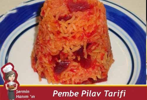 Pembe Pilav Tarifi