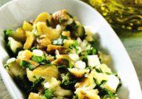 Peynirli Patlıcan Salatası