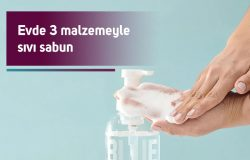 3 Malzemeyle Sıvı Sabun Yapımı