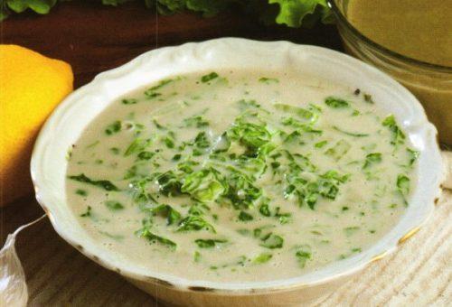 Tahinli Marul Salatası (Teretür)