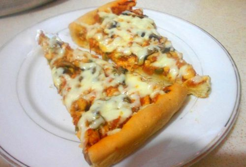 Tavuklu Pizza