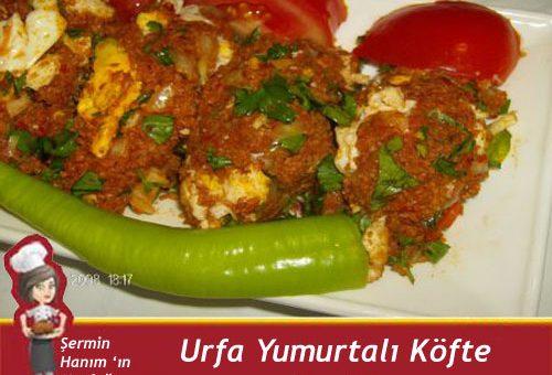 Urfa Yumurtalı Köfte Tarifi.