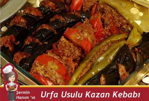 Urfa Kazan Kebabı Tarifi.