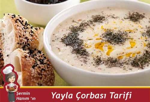 Yayla Çorbası Tarifi.