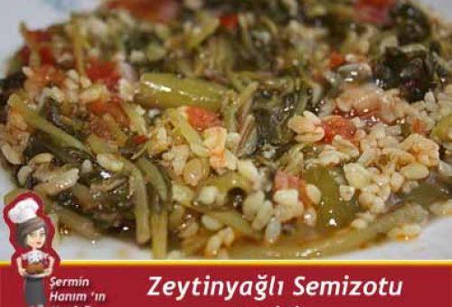 Zeytinyağlı Semizotu Tarifi