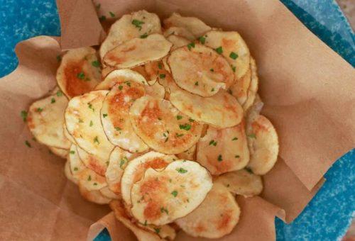 Baharatlı Patates Cipsi